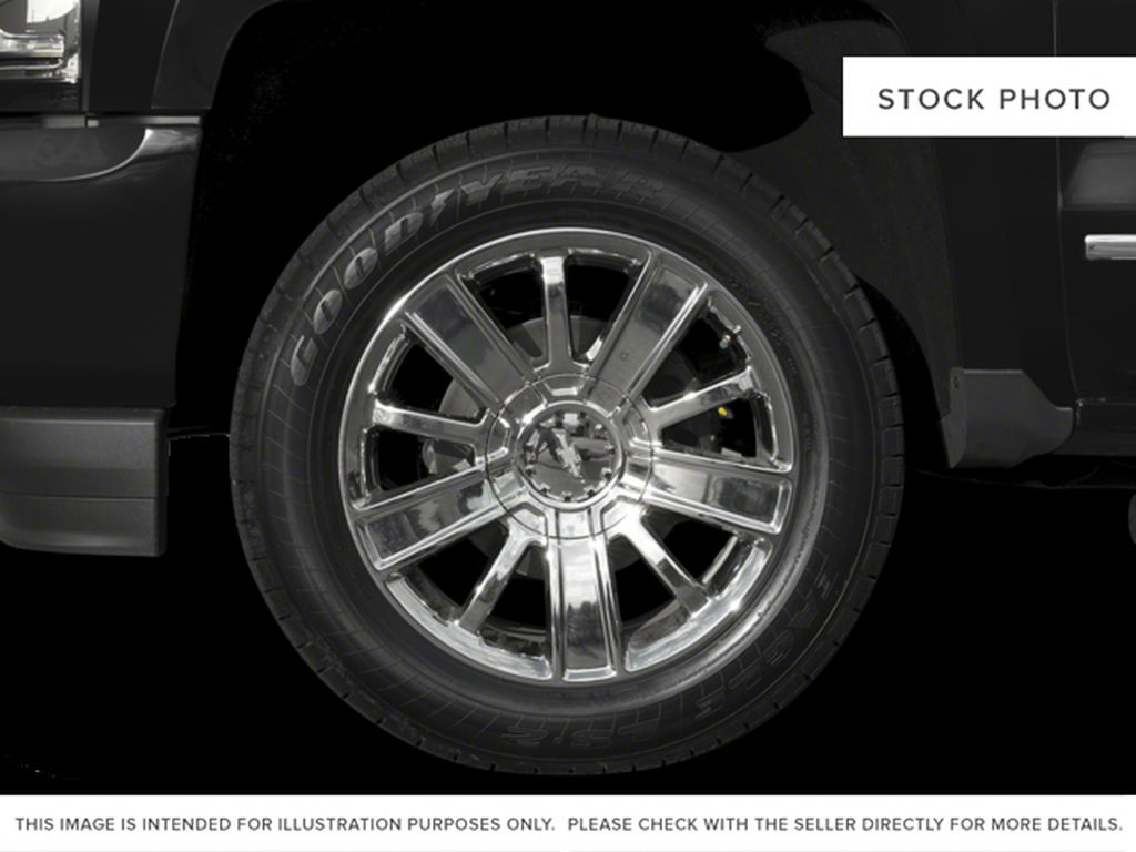 Red[Siren Red Tintcoat] 2017 Chevrolet Silverado 1500 Left Front Rim and Tire Photo in Fort Macleod AB