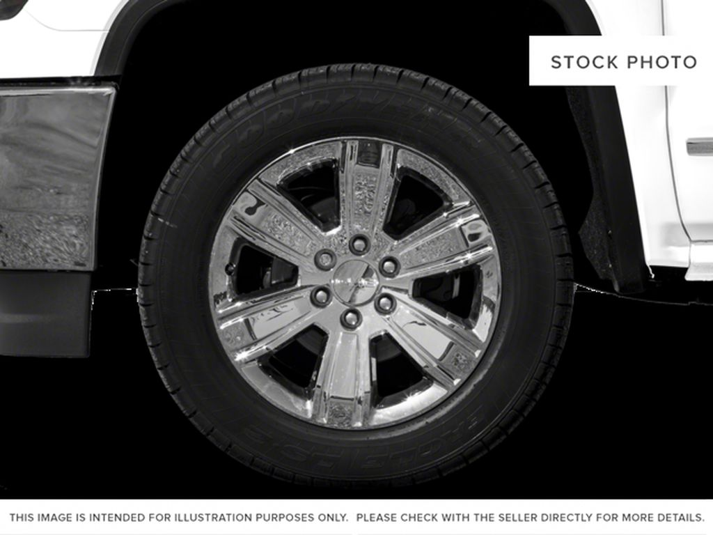 White[Summit White] 2018 GMC Sierra 1500 Left Front Rim and Tire Photo in Fort Macleod AB