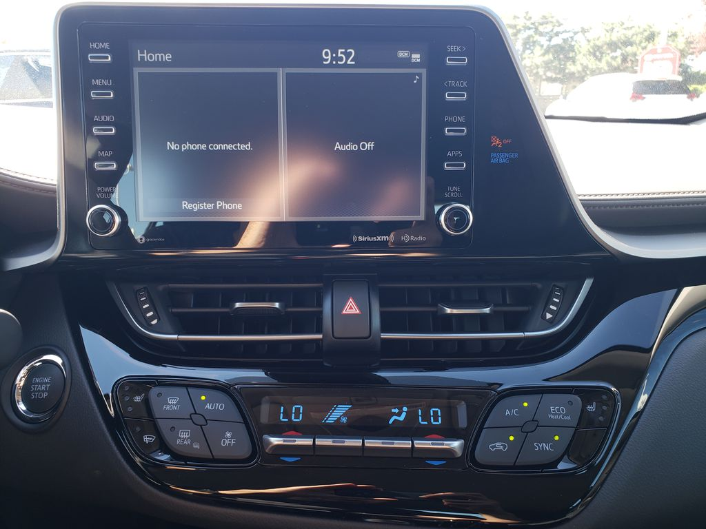 Brown[Bronze Oxide] 2021 Toyota C-HR Central Dash Options Photo in Kelowna BC