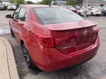 Red[Barcelona Red Metallic] 2018 Toyota Corolla Left Front Rim and Tire Photo in Brampton ON