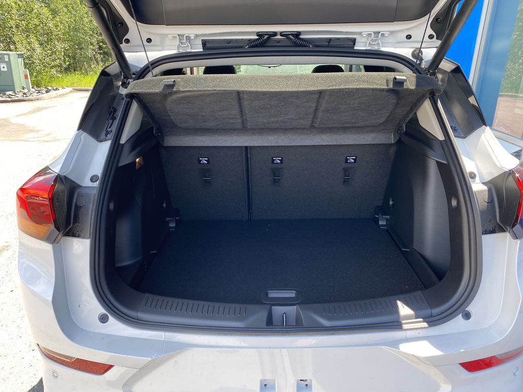 White[Summit White] 2021 Buick Encore GX Trunk / Cargo Area Photo in Canmore AB