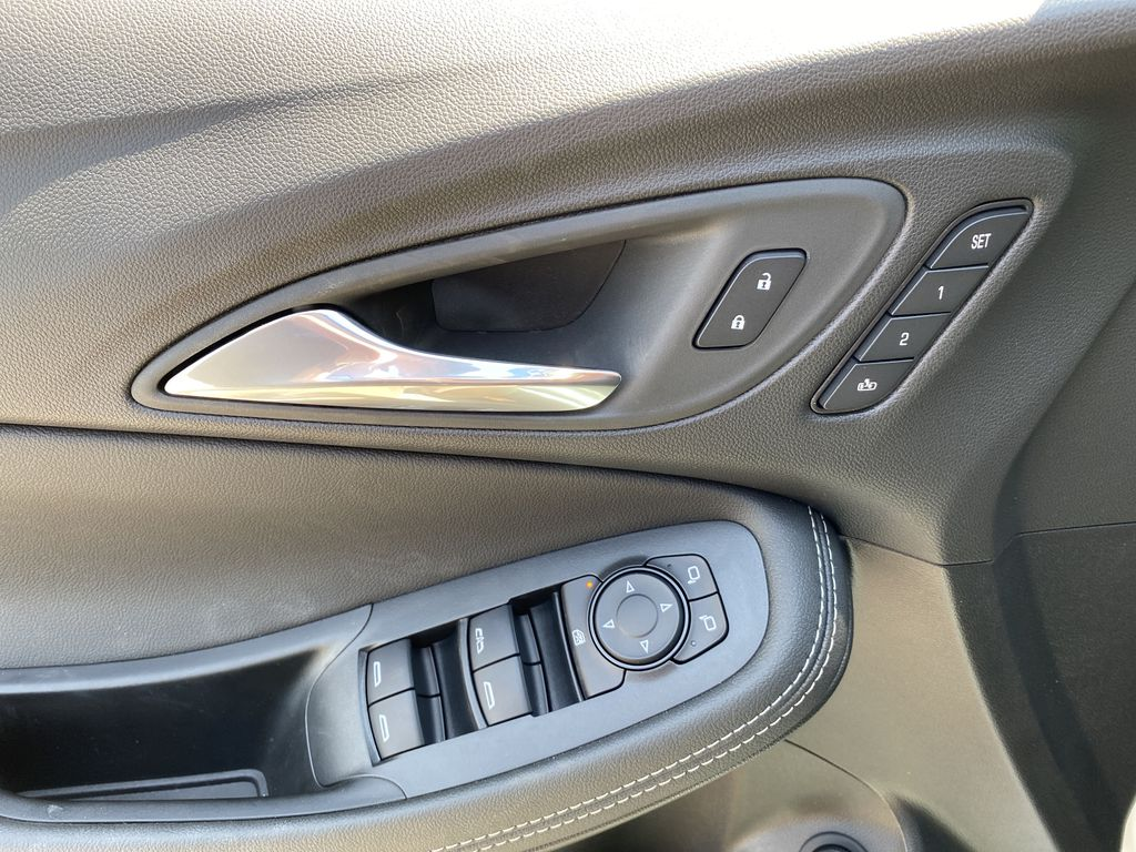 White[Summit White] 2021 Buick Encore GX  Driver's Side Door Controls Photo in Canmore AB
