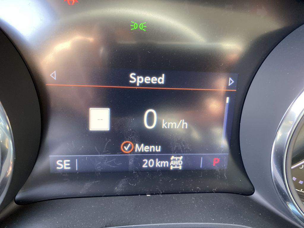 White[Summit White] 2021 Buick Encore GX Odometer Photo in Canmore AB