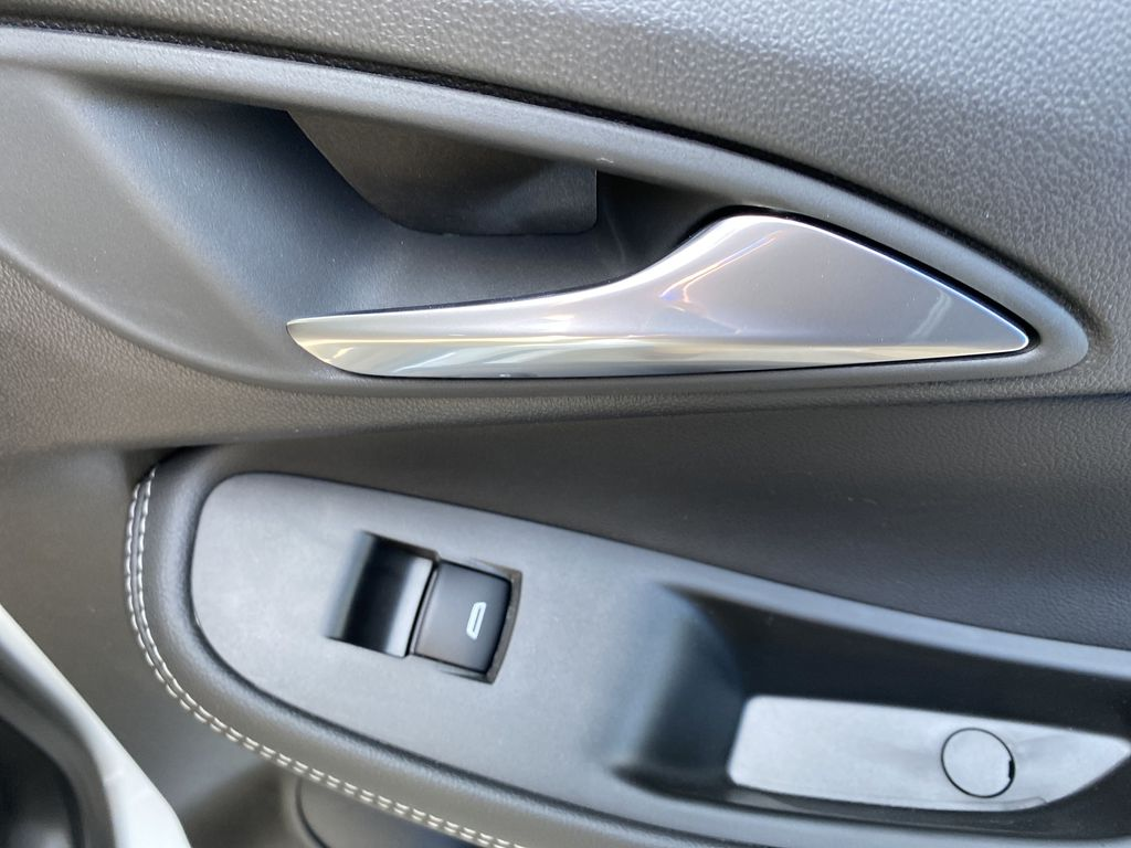 White[Summit White] 2021 Buick Encore GX Passenger Rear Door Controls Photo in Canmore AB