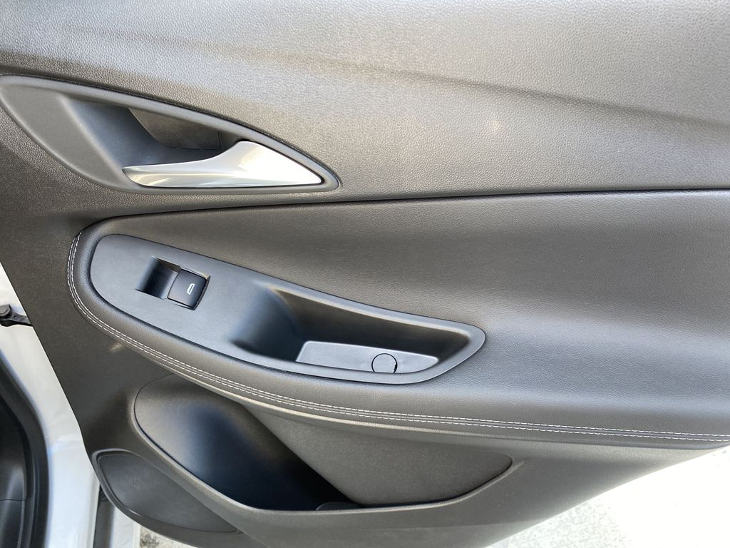 White[Summit White] 2021 Buick Encore GX Right Rear Interior Door Panel Photo in Canmore AB