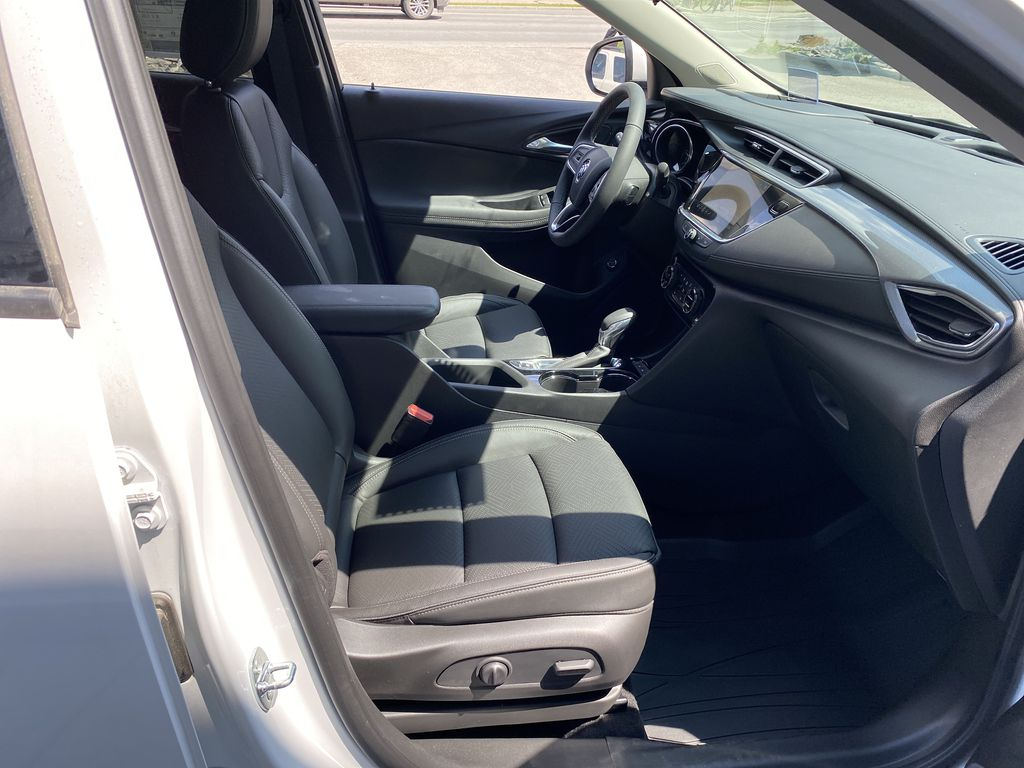 White[Summit White] 2021 Buick Encore GX Right Side Front Seat  Photo in Canmore AB