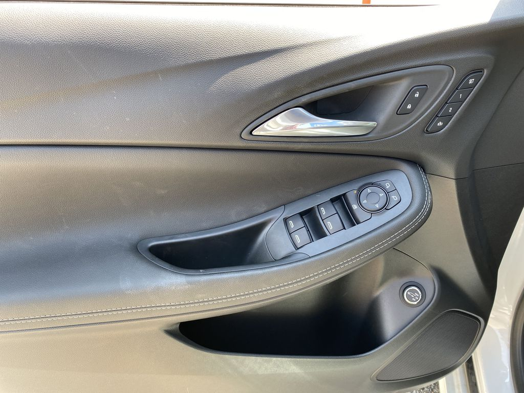 White[Summit White] 2021 Buick Encore GX Left Front Interior Door Panel Photo in Canmore AB