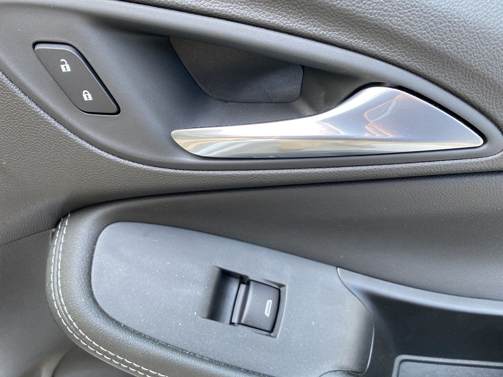 White[Summit White] 2021 Buick Encore GX Passenger Front Door Controls Photo in Canmore AB