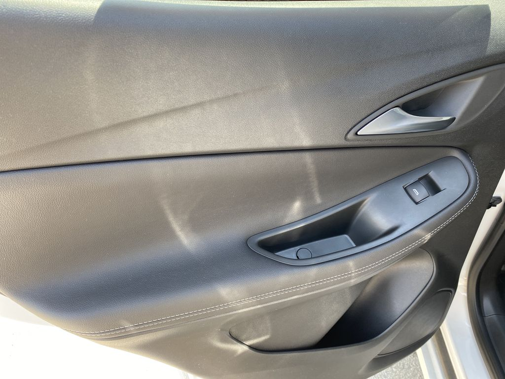 White[Summit White] 2021 Buick Encore GX Left Rear Interior Door Panel Photo in Canmore AB