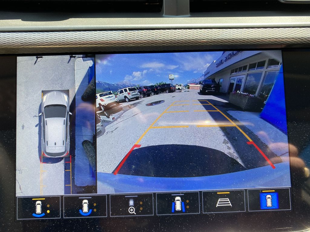 White[Summit White] 2021 Buick Encore GX Backup Camera Closeup Photo in Canmore AB