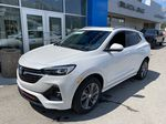 White[Summit White] 2021 Buick Encore GX Left Front Corner Photo in Canmore AB