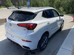 White[Summit White] 2021 Buick Encore GX Right Rear Corner Photo in Canmore AB