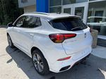 White[Summit White] 2021 Buick Encore GX Left Rear Corner Photo in Canmore AB