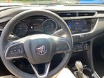 White[Summit White] 2021 Buick Encore GX Steering Wheel and Dash Photo in Canmore AB