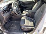 White[Summit White] 2021 Buick Encore GX Left Front Interior Photo in Canmore AB