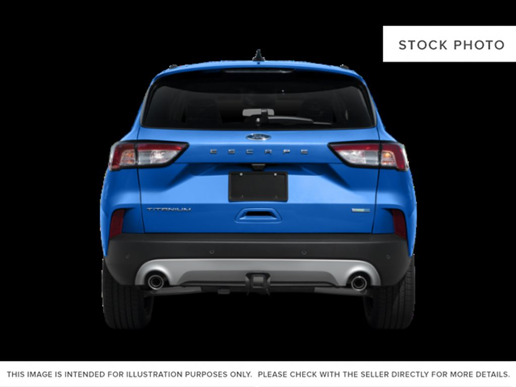 Gray[Carbonized Grey Metallic] 2021 Ford Escape Rear of Vehicle Photo in Dartmouth NS