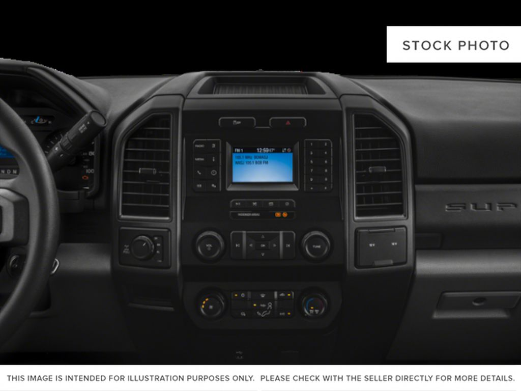 Red[Race Red] 2020 Ford Super Duty F-350 SRW Radio Controls Closeup Photo in Fort Macleod AB