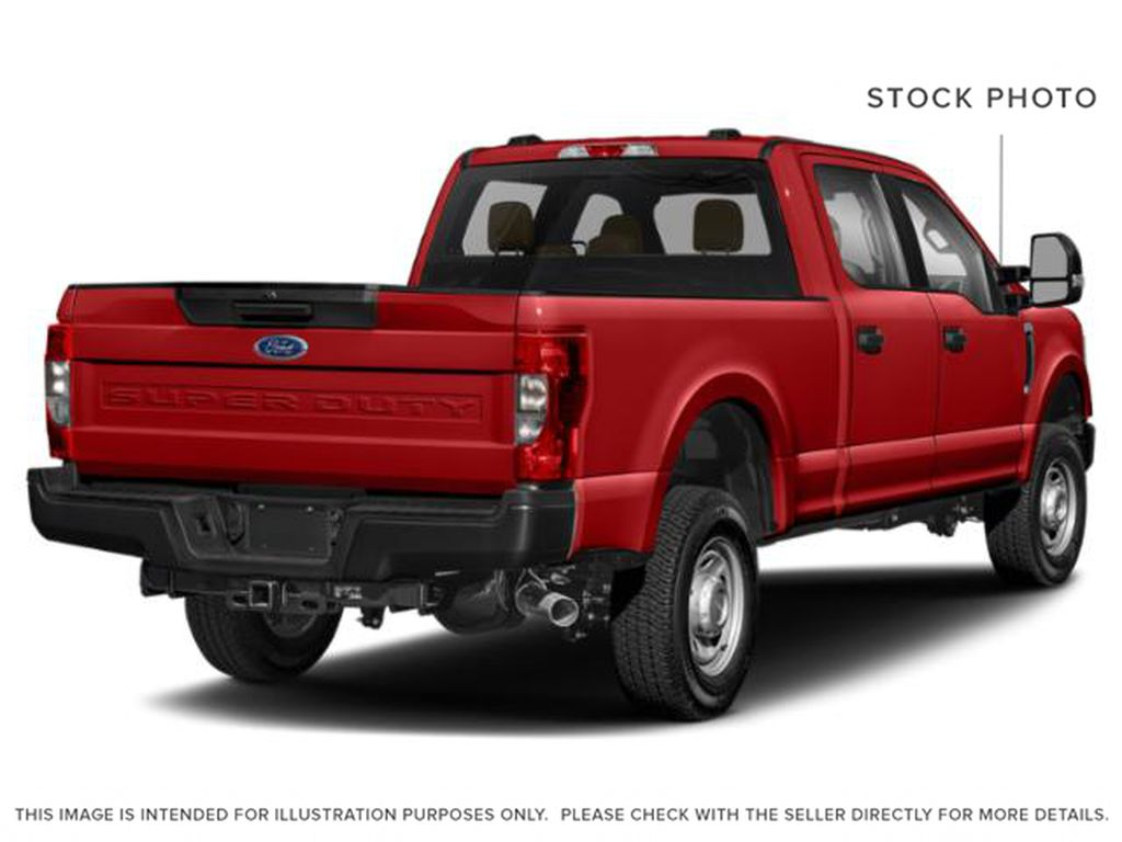 Red[Race Red] 2020 Ford Super Duty F-350 SRW Right Rear Corner Photo in Fort Macleod AB