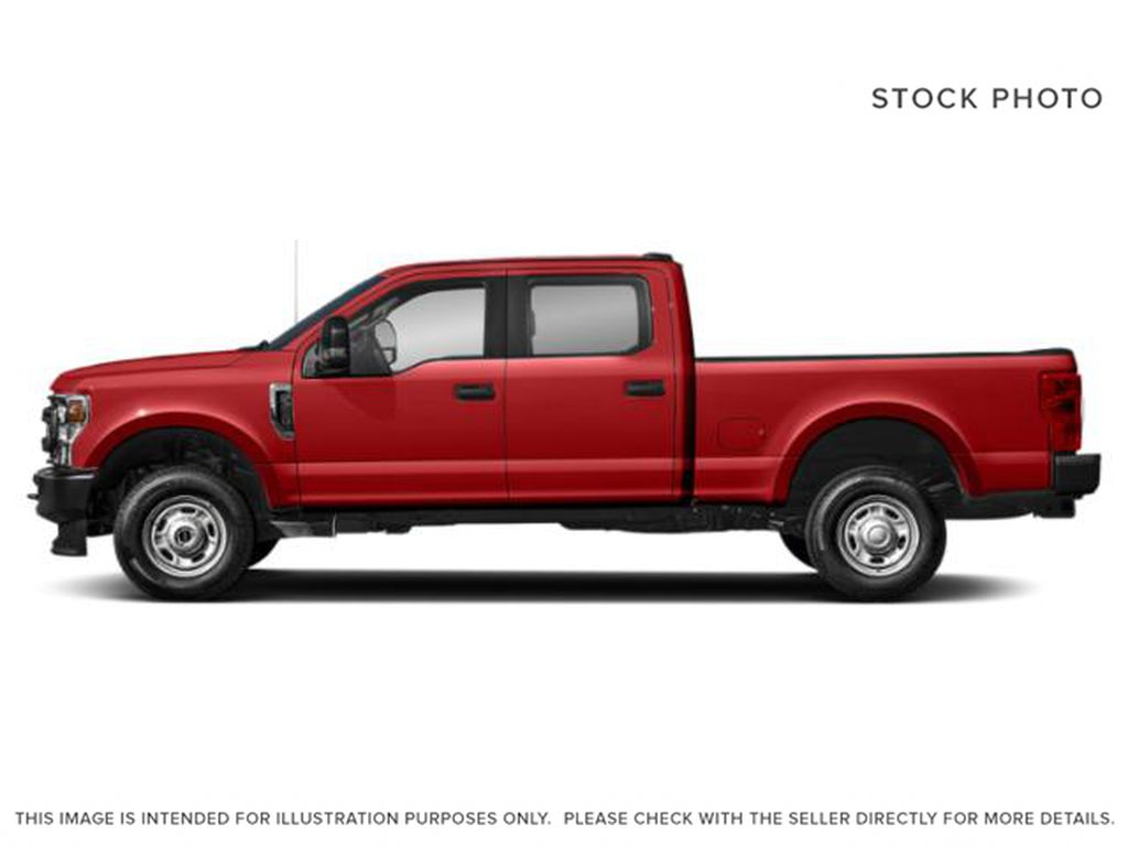 Red[Race Red] 2020 Ford Super Duty F-350 SRW Left Side Photo in Fort Macleod AB