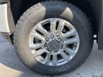 White[White Frost Tricoat] 2021 GMC Sierra 3500HD Denali Left Front Rim and Tire Photo in Calgary AB