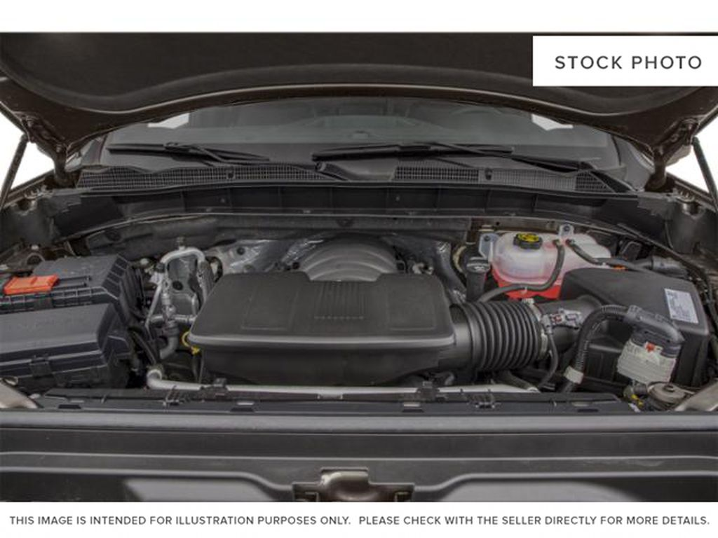 White[Summit White] 2021 GMC Sierra 1500 AT4 Engine Compartment Photo in Calgary AB