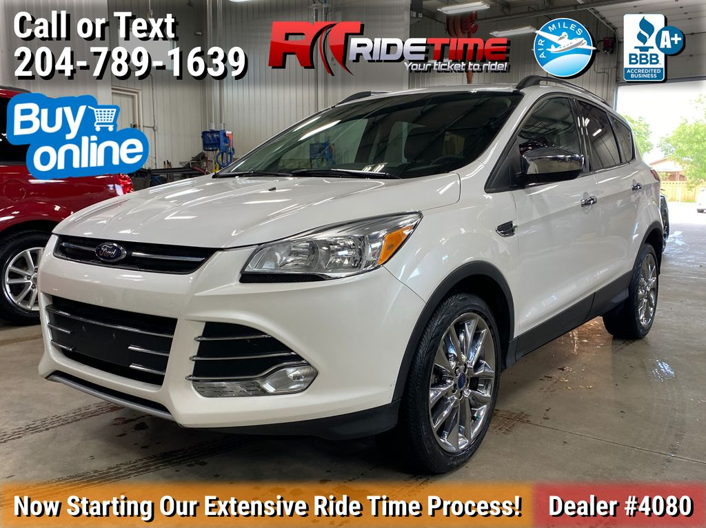 White[Oxford White] 2015 Ford Escape SE 4WD - Panoramic Roof, Navigation, Backup Cam
