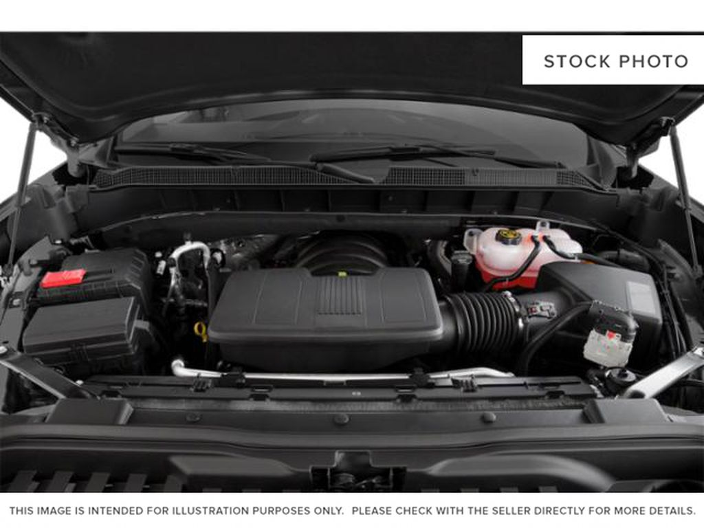 Satin Steel 2019 Chevrolet Silverado 1500 Engine Compartment Photo in Fort Macleod AB
