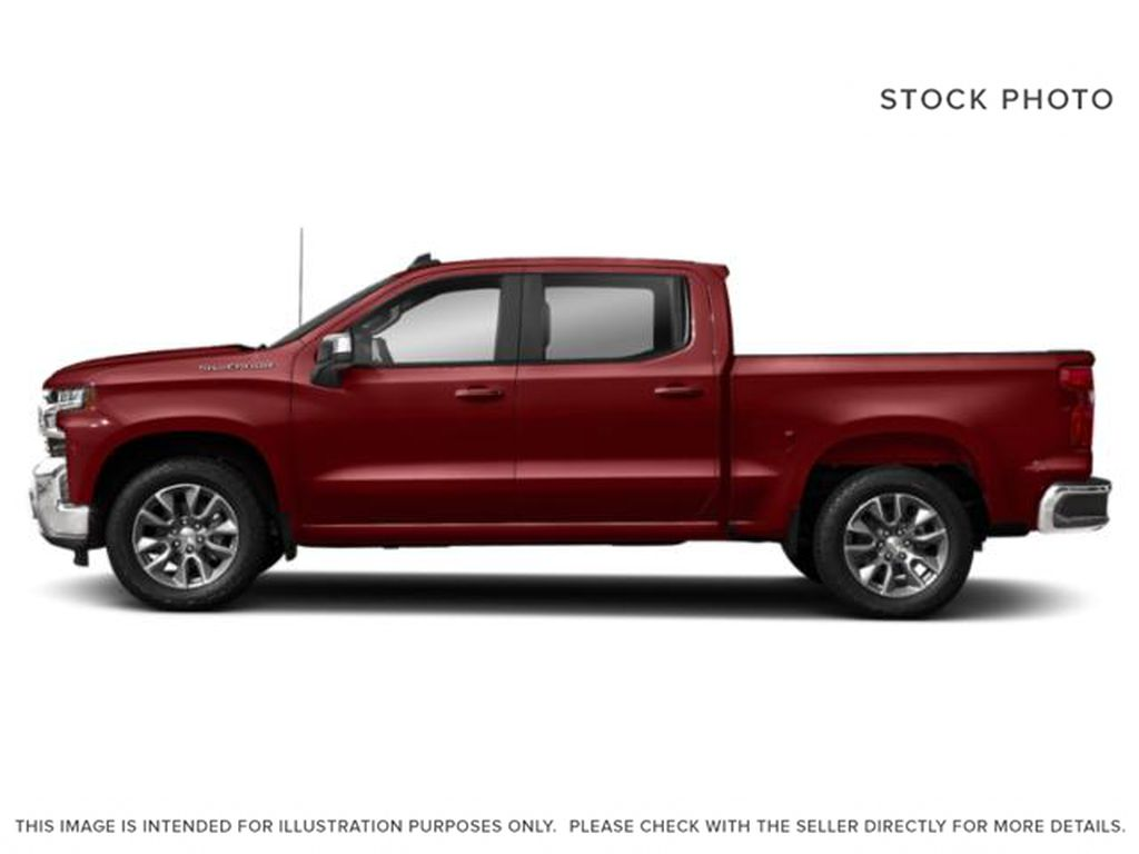 Red[Cajun Red Tintcoat] 2019 Chevrolet Silverado 1500 Left Side Photo in Fort Macleod AB