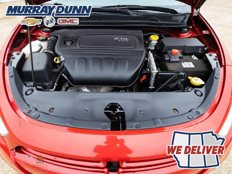 Red[Redline Pearl] 2013 Dodge Dart Engine Compartment Photo in Nipawin SK