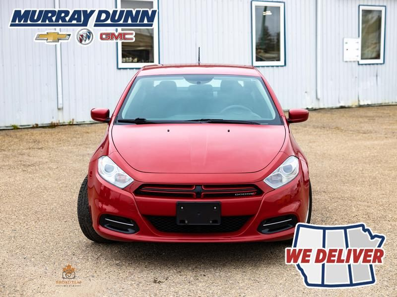 Red[Redline Pearl] 2013 Dodge Dart Front Vehicle Photo (Low) in Nipawin SK