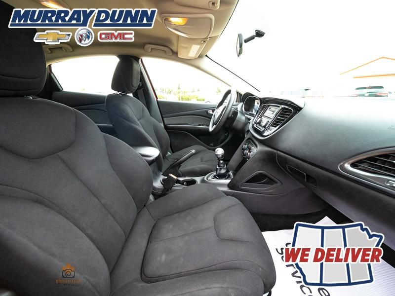 Red[Redline Pearl] 2013 Dodge Dart Front Right Interior Photo in Nipawin SK