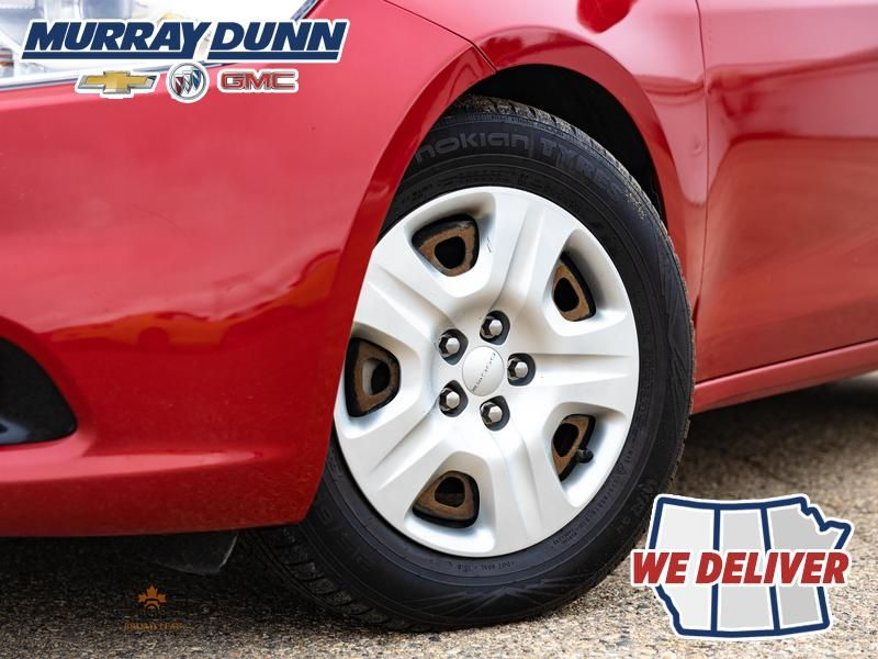 Red[Redline Pearl] 2013 Dodge Dart Left Front Rim and Tire Photo in Nipawin SK