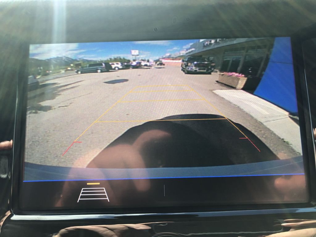 White[Summit White] 2020 Chevrolet Trax Backup Camera Closeup Photo in Canmore AB