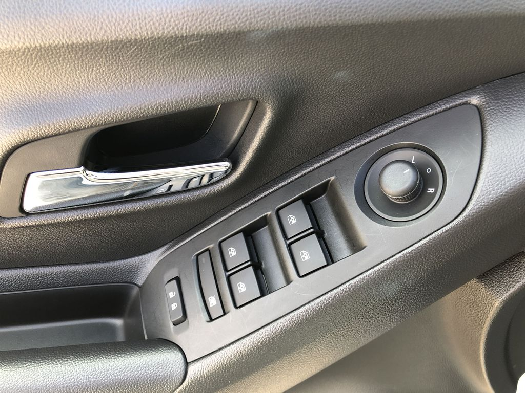 White[Summit White] 2020 Chevrolet Trax  Driver's Side Door Controls Photo in Canmore AB