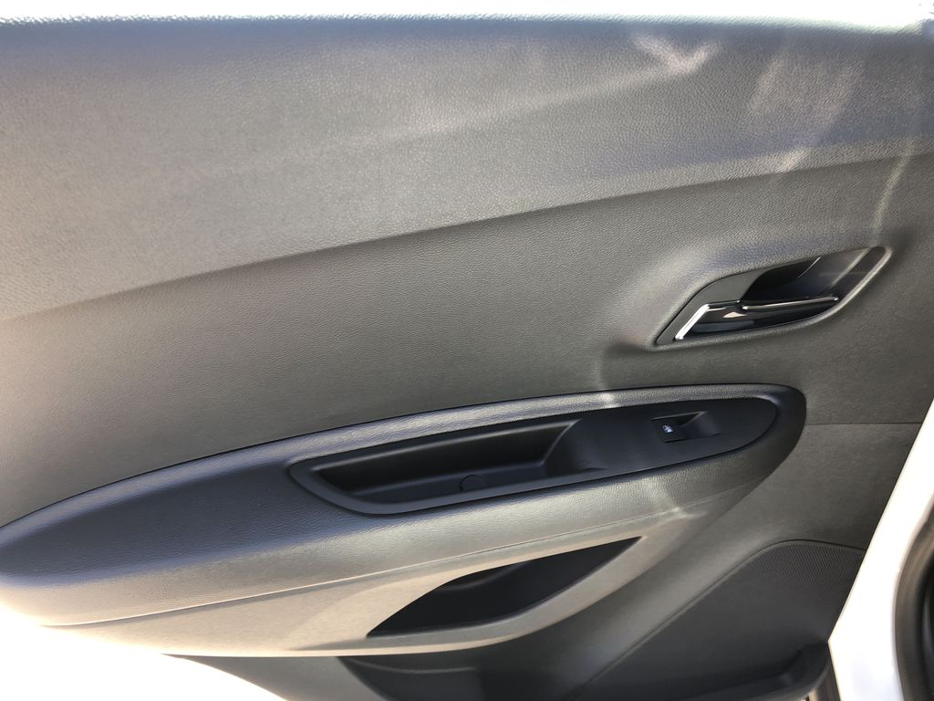 White[Summit White] 2020 Chevrolet Trax Left Rear Interior Door Panel Photo in Canmore AB