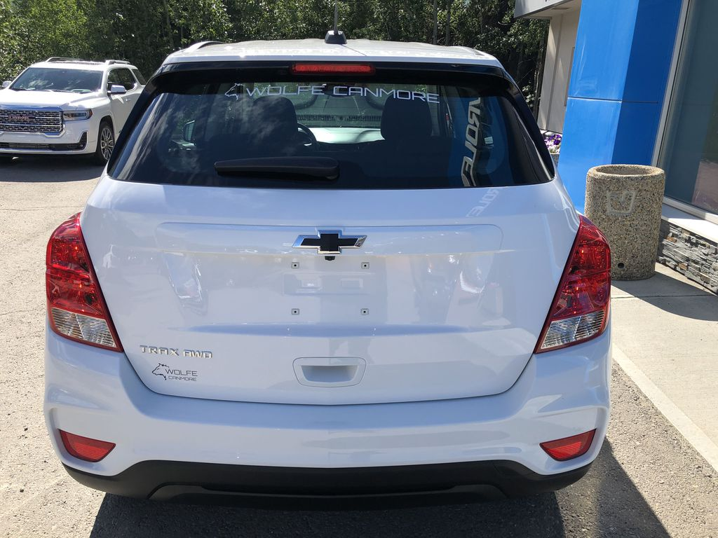 White[Summit White] 2020 Chevrolet Trax Rear of Vehicle Photo in Canmore AB