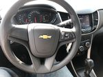 White[Summit White] 2020 Chevrolet Trax Steering Wheel and Dash Photo in Canmore AB