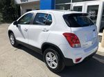 White[Summit White] 2020 Chevrolet Trax Left Rear Corner Photo in Canmore AB