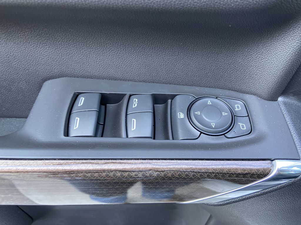 White[Iridescent Pearl Tricoat] 2021 Chevrolet Silverado 1500 RST  Driver's Side Door Controls Photo in Calgary AB