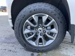 White[Iridescent Pearl Tricoat] 2021 Chevrolet Silverado 1500 RST Left Front Rim and Tire Photo in Calgary AB