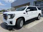 White[Summit White] 2021 GMC Yukon XL SLT Left Front Head Light / Bumper and Grill in Calgary AB