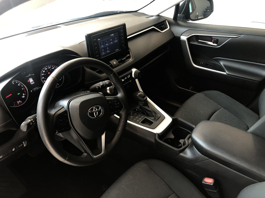 Silver 2020 Toyota RAV4 XLE Left Driver Controlled Options Photo in Edmonton AB