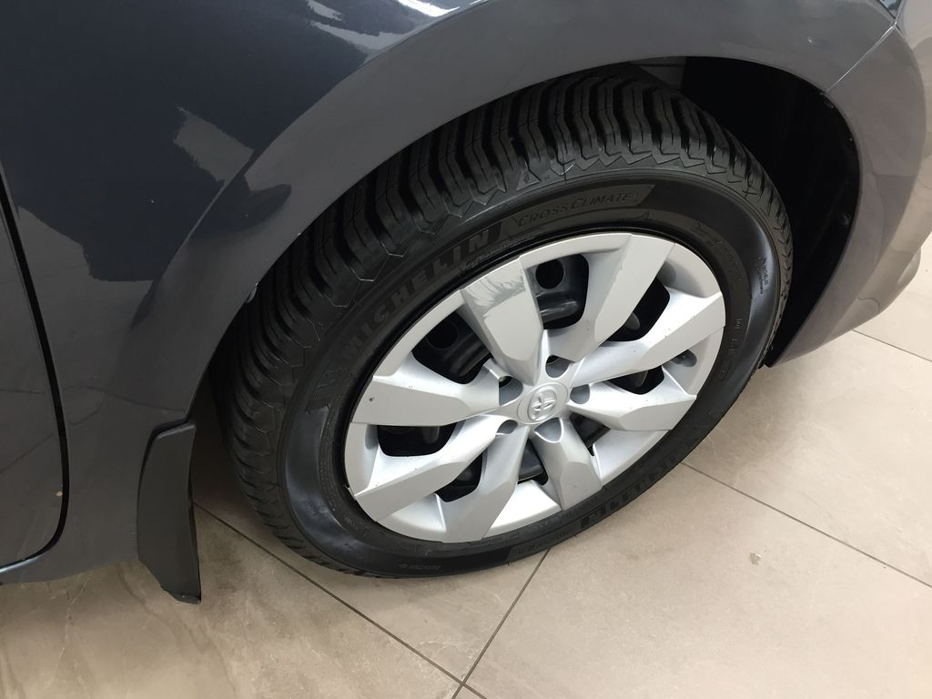 Gray[Slate Metallic] 2015 Toyota Corolla S / MANUAL TRANSMISSION Right Front Rim and Tire Photo in Sherwood Park AB