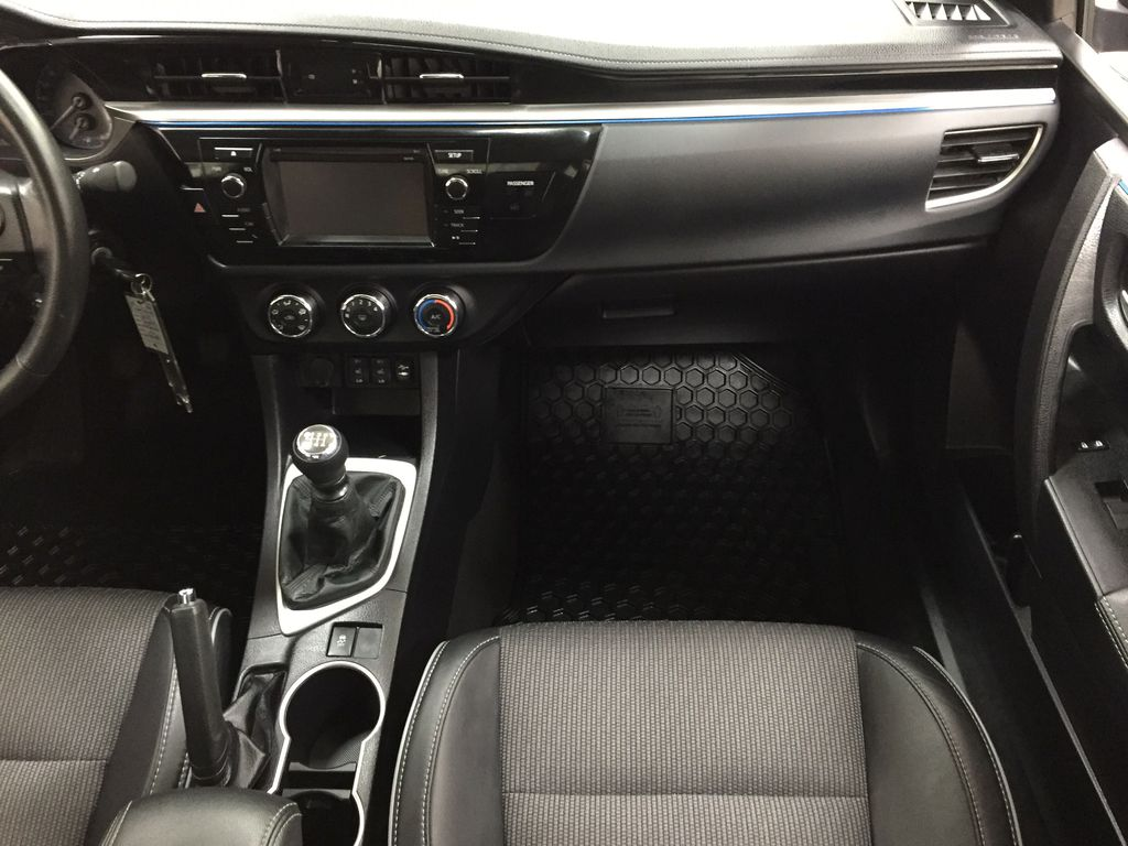 Gray[Slate Metallic] 2015 Toyota Corolla S / MANUAL TRANSMISSION Right Front Seat Photo in Sherwood Park AB