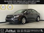 GREY 2016 Chevrolet Cruze Limited 2LT - Remote Start, Backup Camera, Heated Seats Primary Photo in Edmonton AB