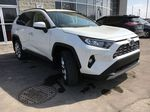 White[Blizzard Pearl] 2021 Toyota RAV4 AWD Limited Package D1RFVT AB Right Side Front Seat  Photo in Brampton ON