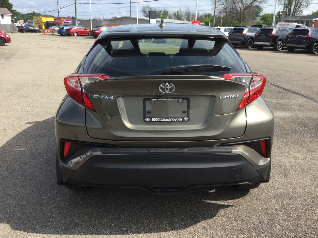Brown[Bronze Oxide] 2021 Toyota C-HR Rear of Vehicle Photo in Brockville ON