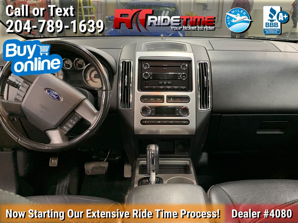 2010 Ford Edge Central Dash Options Photo in Winnipeg MB