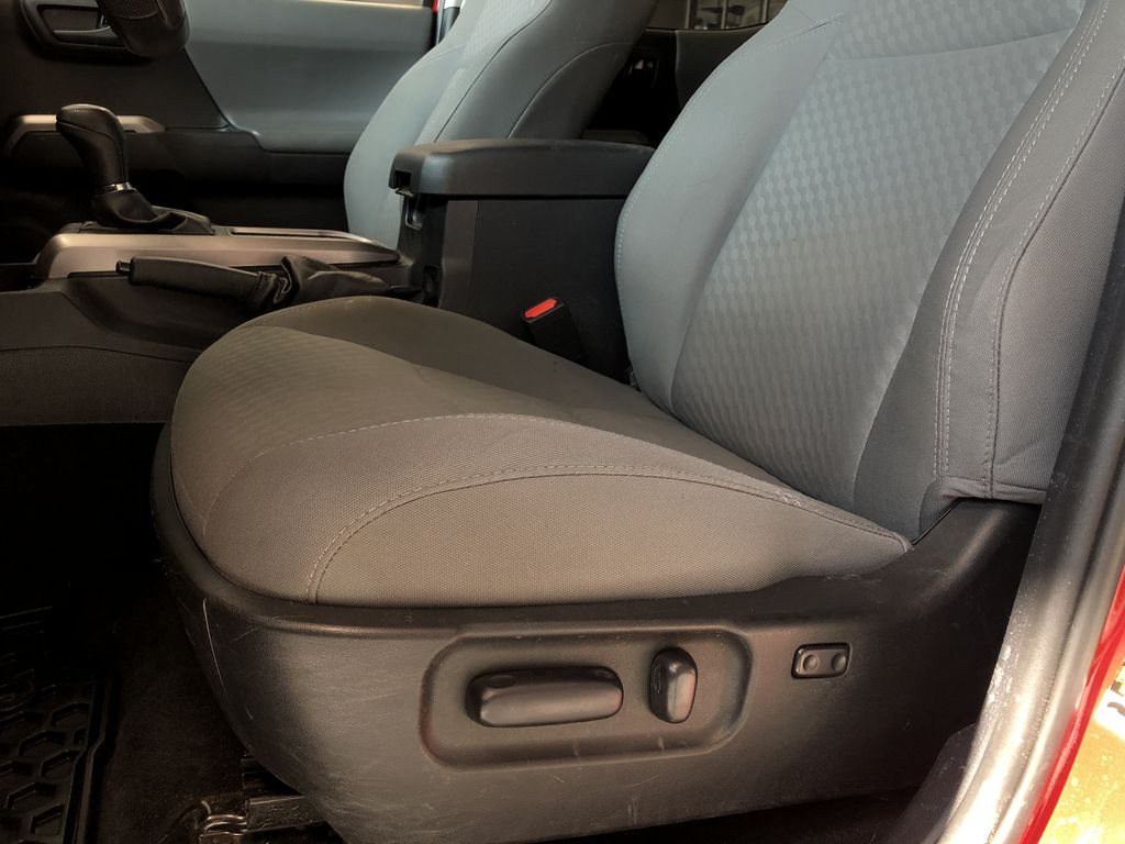 Red 2020 Toyota Tacoma 4WD Double Cab SR5 Right Side Front Seat  Photo in Edmonton AB