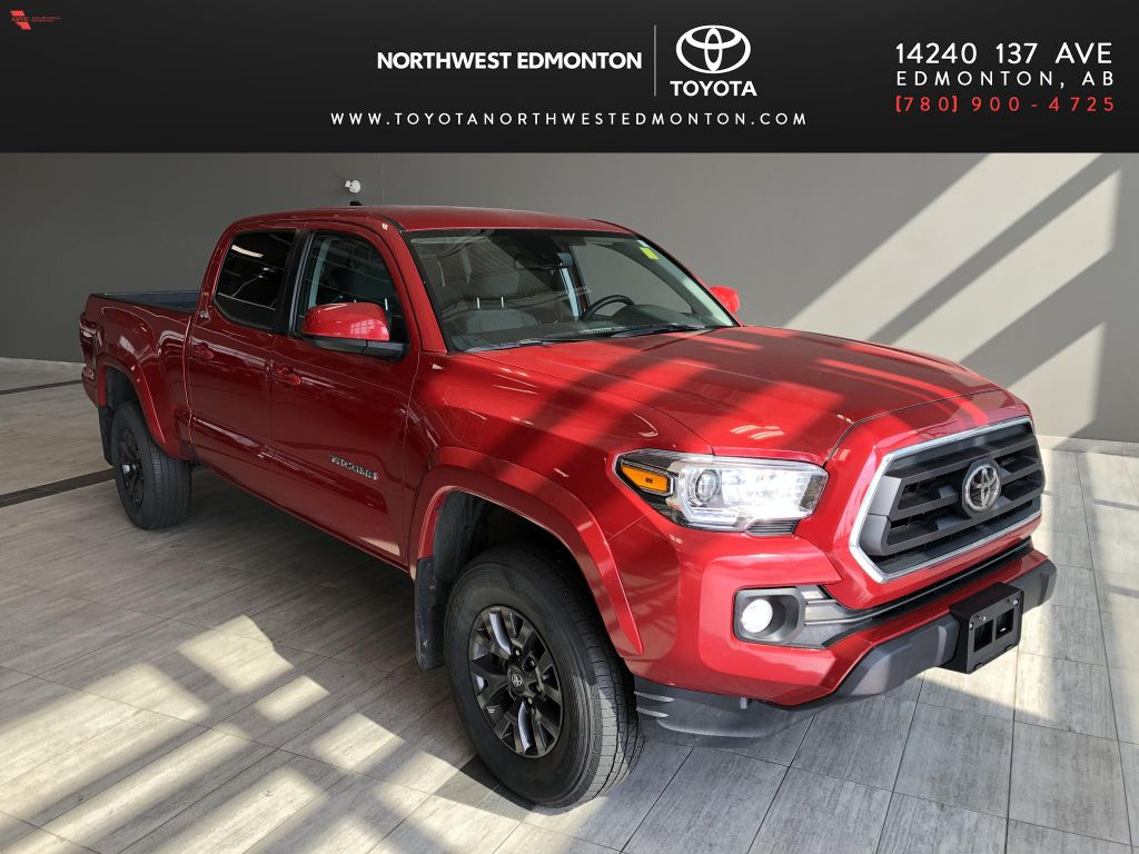 Red 2020 Toyota Tacoma 4WD Double Cab SR5